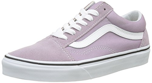 Vans Women's Old Skool Trainers, Pink (Sea Fog/True White), 6 UK