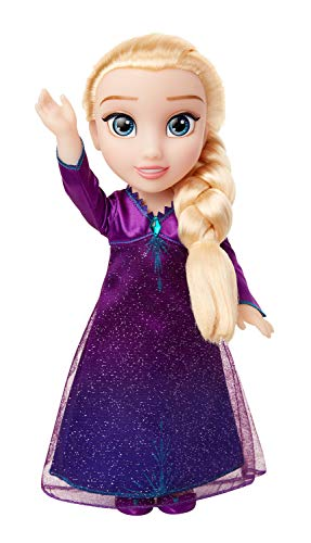 Frozen 2- Elsa Musical Frozen II Muñeca, Color Set (Jakks Pacific 207474)
