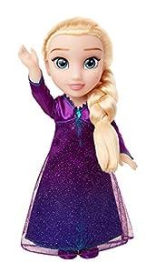 Glop Games-Elsa Musical Frozen II Muñeca, Color jakks Pacific 207474