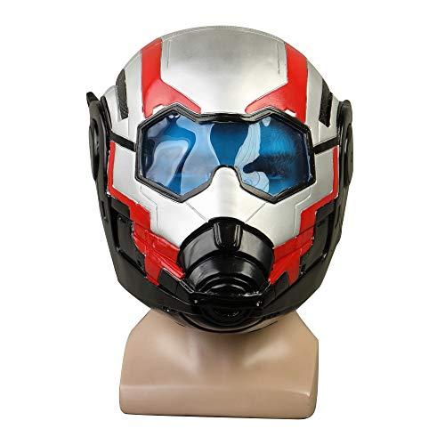 VAWAA Avengers: Endspiel Helm Superhelden Maske Waffen Cosplay Helme Captain America Iron Mann Masken Antman Halloween Kostüm Prop (Captain America Kostüm Männer)