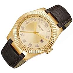 Esprit Herren-Armbanduhr Analog Quarz Leder ES103581003