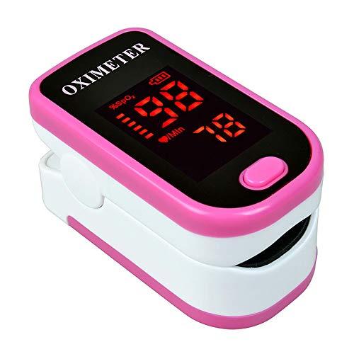 Anself Pulsoximeter, Fingerpulsoximeter zur Messung der Blutsauerstoffsättigung SpO2 und Puls