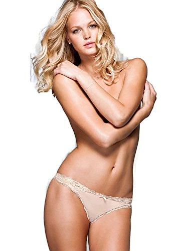 Victorias Secret Damen Traum Engel Lace Panty Zapfen: Small S 36 rosa