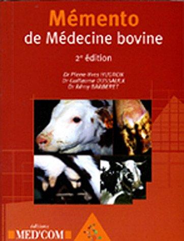 Mémento de Médecine bovine par Pierre-Yves Hugron