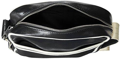 Borsa L6201 Classic Side Bag Fred Perry F61 MainApps Nero
