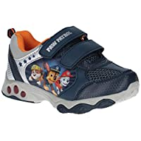 Leomil Boys Chase Rubble Marshall Light Up Light Trainers
