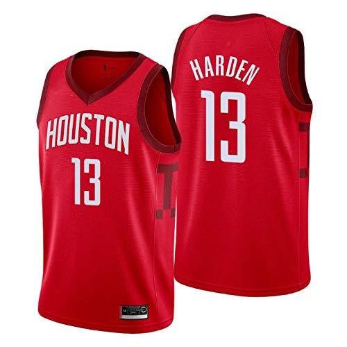 K&S Sports Maillot James Harden Houston Rockets Earned Rouge,Maillot James Harden Earned Edition Swingman (Rouge, L)
