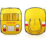 Toys Bhoomi Children's School Bus Play Tent - 100% Safe Polyester Fabric