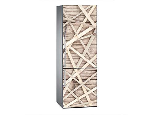 Oedim Vinilo Frigorífico Textura Cerca Bambú 185x60cm