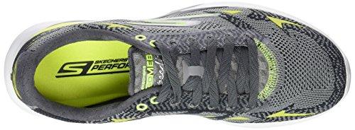 Skechers Go Meb Speed 32016, Chaussures de course homme Gris - Grau (CCLM)