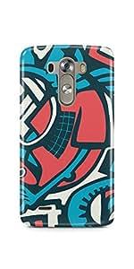 Casenation Tech Art LG G3 Glossy Case