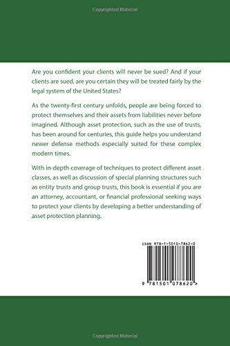Asset Protection: A Guide For Professionals