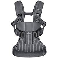 BABYBJÖRN Baby Carrier One, Pinstripe/Grey, Cotton Mix - ukpricecomparsion.eu