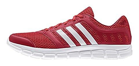 adidas Herren Breeze 101 2 Laufschuhe, Rot (Vivid Red/Ftwr White/Power Red), 47 1/3 EU