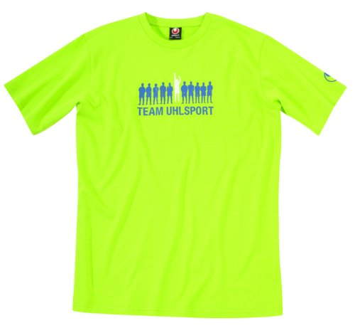 uhlsport Uni Jump T-shirt limone