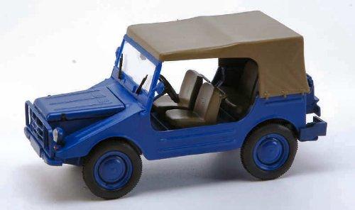 Preisvergleich Produktbild DKW Munga 4 THW Closed Blue 1:43 Model 60983
