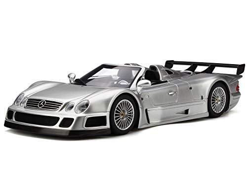 GT Spirit Mercedes C208 CLK GTR Roadster Silber Modellauto GT155 1:18