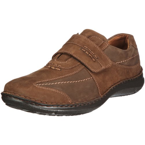 Josef Seibel Alec Herren Low-Top Sneaker   Comfort Schuhe aus Nappaleder -Braun (340 brasil),48 EU