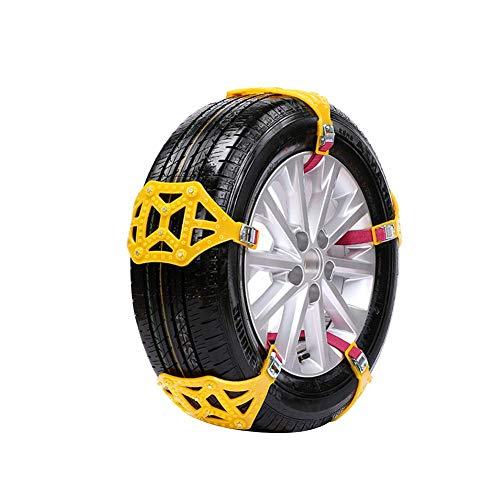 6/8/10 pcs Universal bœuf tendon épaissit pneu chaines de neige pour voiture Lot de 10
