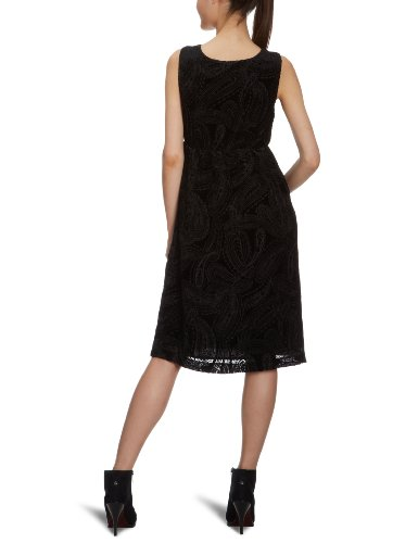 Eddie bauer robe longueur genoux (24208126), col en v Noir - Noir
