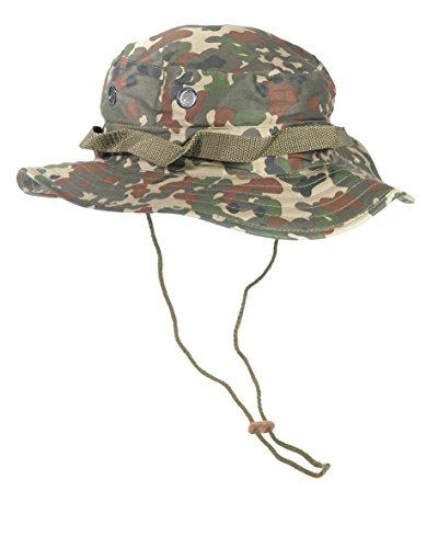 Mil-Tec GI Boonie Hut Flecktarn Größe S - Cap Camo Gi