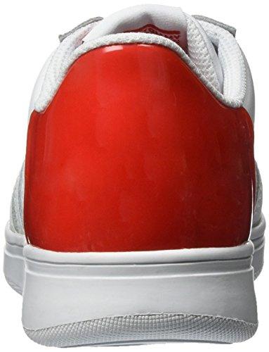 Tommy Hilfiger Z3285ero Jr 7a, Sneakers Basses Garçon Blanc (White-tomato 903)