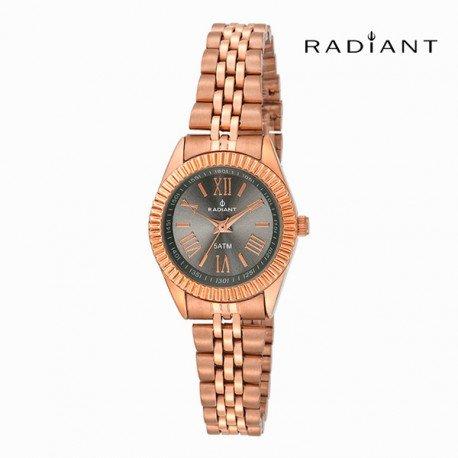 Radiant Reloj Análogo clásico para Mujer de Cuarzo con Correa en Acero Inoxidable RA384205
