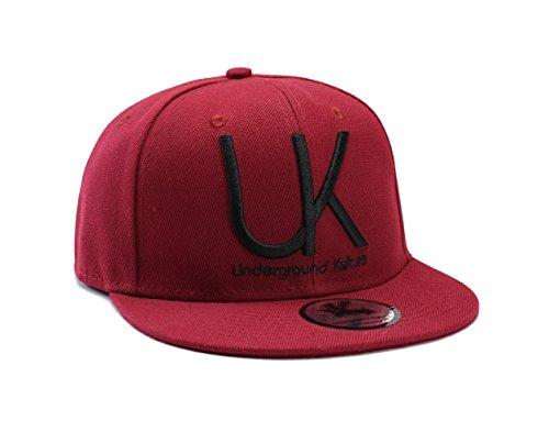 d Kulture Burgund Baseball Cap ()