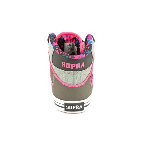 Supra Wmns Vaider Charcoal Pink White Multicolore