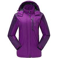 fe6672c9d4c4e Kenebo Women Ski Jacket Mountain Thicken Plus Size Fleece Ski-Wear  Waterproof Hiking Outdoor Snowboard