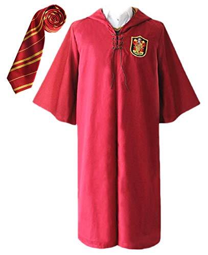 Harry Potter Kleid Roben - Monissy Unisex Harry Robe Umhang mit