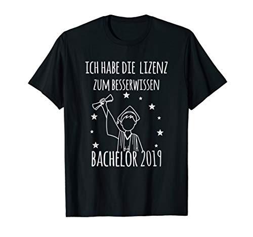 Besserwisser Lizenz | Uni Abschluss | Bachelor 2019 Tshirt -