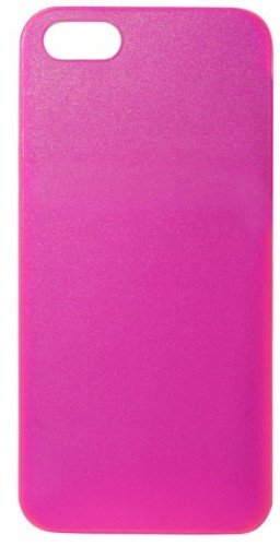 Trendwerk77 FLA2526 Flash Back Clip für Apple iPhone 5 neon-pink