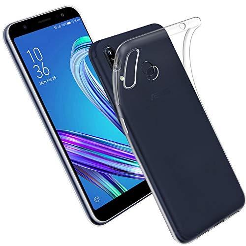 cookaR Asus Zenfone Max Pro M2 ZB631KL hülle transparent, Ultra Dünn Soft Silikon Crystal Clear Schutzhülle für Asus Max Pro M2 ZB631KL case Cover(transparent)