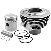 Zylinder (Sektorenzylinder), pass. für AWO 425S, (D68,00), 250ccm , 15,5PS (kpl. mit Flachkolben)