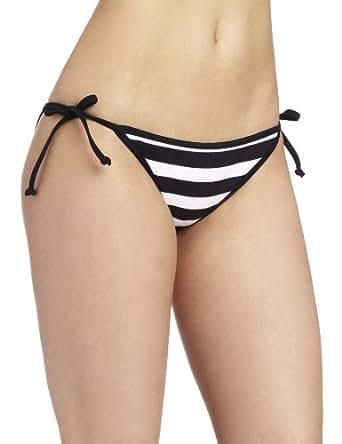 Hurley Surfside Tie Side Women's Bikini Black Large
