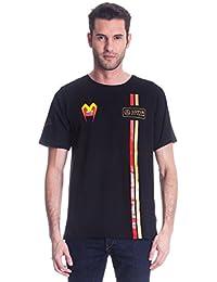 Fórmula uno 1 Lotus F1 ® Equipo pastor Maldonado 2014/5 Lifestyle camiseta de manga corta para hombre