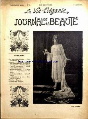 BEAUTE [No 6] du 01/06/1918 - CAUSERIE -...