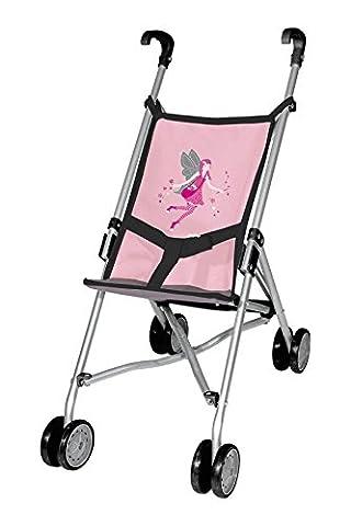 Bayer Design 3010800 - Puppenbuggy für Puppen, 46 cm, rosa