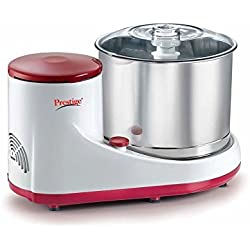Prestige PWG05 2-Litre Wet Grinder (White/Red)