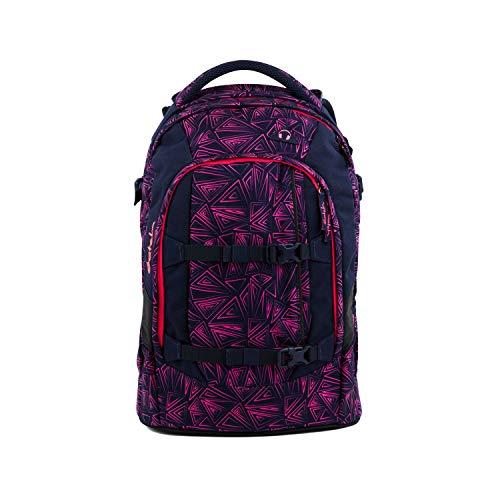 satch Pack ergonomischer Schulrucksack für Mädchen und Jungen - Pink Bermuda