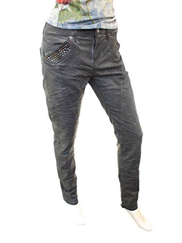 ATT, Amor Trust & Truth -  Jeans  - boyfriend - Donna anthra oil wash / grau