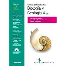 Guia Ciencias de La Naturaleza Biología y Geología 4 Eso los Caminos Del Saber Santillana - 9788468000299