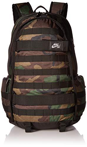 Nike Nk Sb Rpm Bkpk - Aop, Sacs à dos homme, Multicolore (Iguana/Black Black), 15x24x45 cm (W x H L)