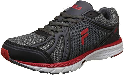 Fila Men's Bolt Blk/Rd Running Shoes - 7 UK/India (41 EU)(11006045)
