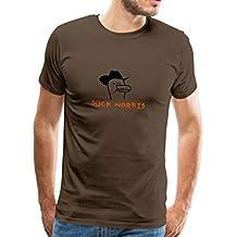 Spreadshirt Duck Norris Männer Premium T-Shirt