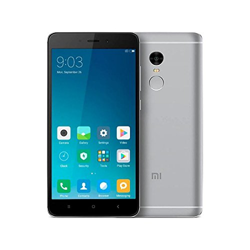 Xiaomi Redmi Note 4 Smartphone 5.5' 4G 32GB Doble Sim, Con Google Play [Version Europea] Gris