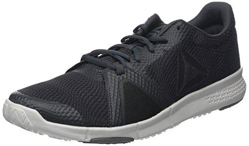 Reebok Flexile, Scarpe da Fitness Uomo Grigio (Coalblackalloyskull Grey 0)