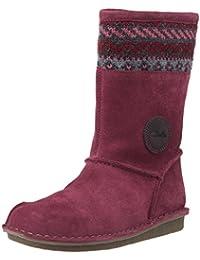 Clarks Girl's Snugglehug Inf Mushroom SDE Boots