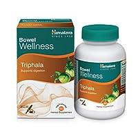 كبسولات اعشاب نباتية تريفالا، مزيلة لسموم المعدة ومطهرة للقولون وتدعم الهضم وتخفف الامساك من هيمالايا